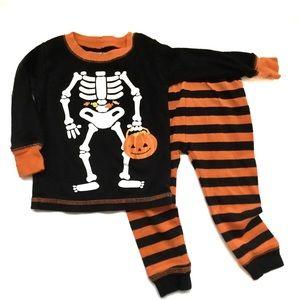 3/$25 Carter's Child's Halloween Pajamas 12M